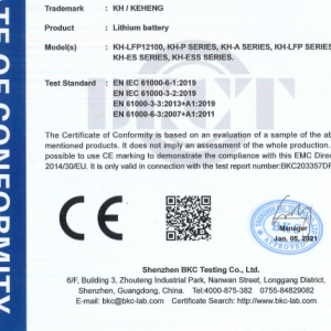 Keheng gets the very first CE certificate in 2021